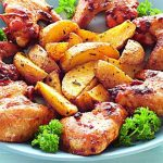 Рецепт: Курица, маринованная в соевом соусе