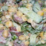 Рецепт с фото: Простой и оригинальный салат