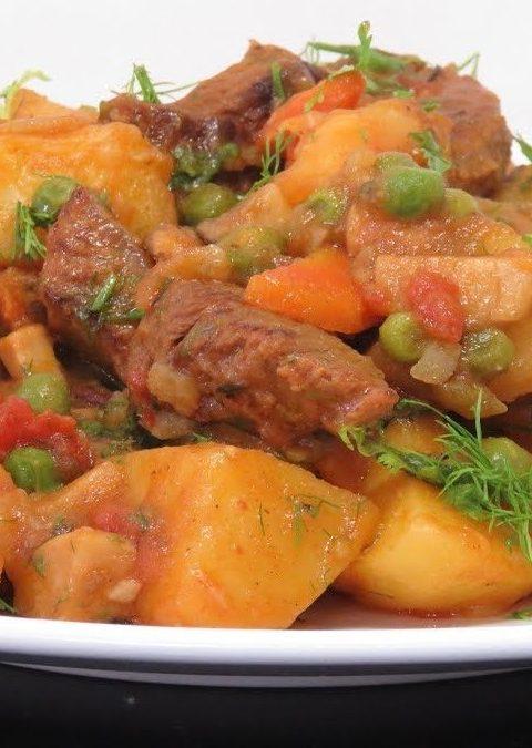 Рецепт с фото: Жаркое по домашнему. Оригинальное, вкусное жаркое.