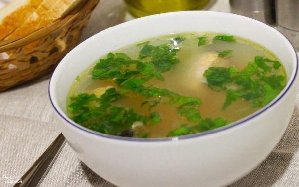 Рецепт: Суп с сельдью