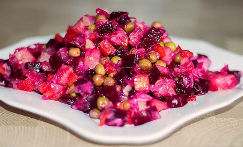 Рецепт салата с фото: Новогодний салат Винегрет