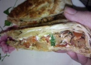 Рецепт с фото: Мясо в армянском лаваше. Лаваш армянский.