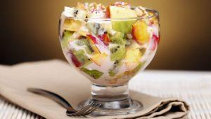 Рецепт с фото: Фруктовый салатик. Полезный салат из фруктов