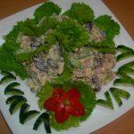 Рецепт с фото: Салат рыбки в пруду