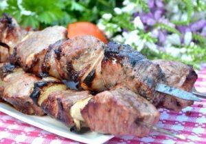 Рецепт с фото: Шашлык из свинины