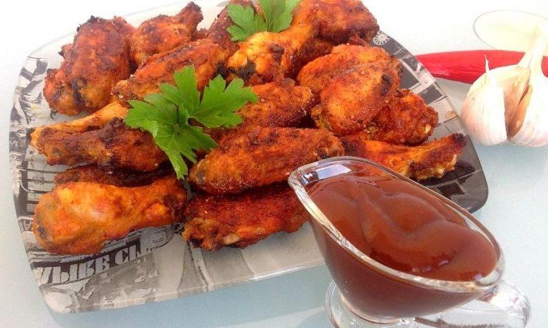 Рецепт: Куриные крылышки в пиве