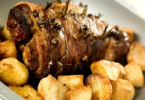 Рецепт с фото: Баранина с чесноком и орегано