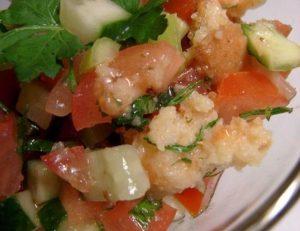 Рецепт с фото: Итальянский хлебный салат