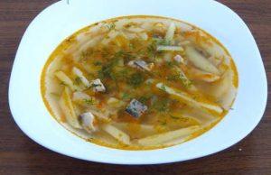 Рецепт с фото: Суп с сельдью. Селёдочный суп.