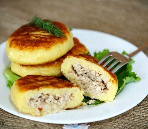 Рецепт с фото: Зразы картофельные с мясом