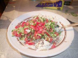 Рецепт с фото: Салат Крабовые сласти. Крабовый салат.