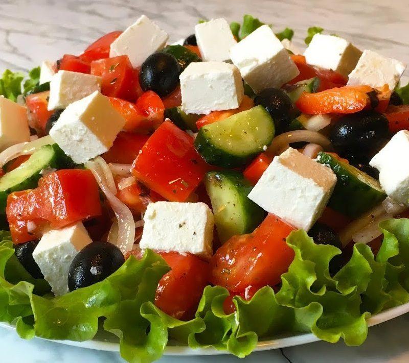 Рецепт с фото: Салат греческий. Греческий салат