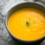 Куриный густой суп с шампиньонами. Вкусный куриный суп.