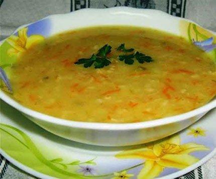 Рецепт с фото: Морковный суп-пюре с кориандром