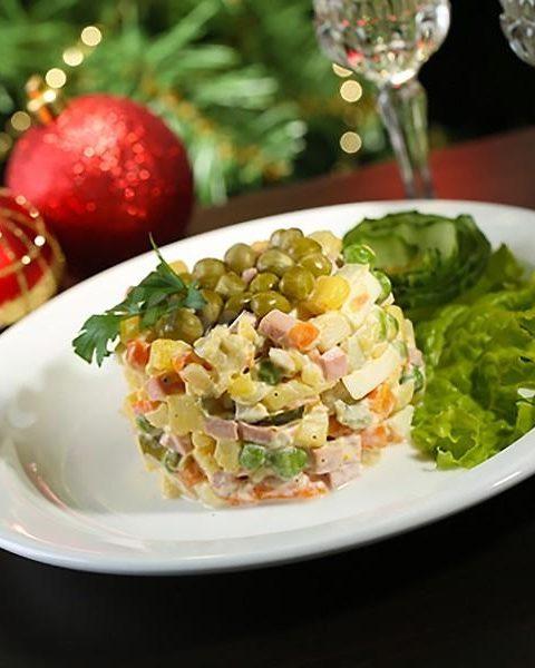 Рецепт с фото: Салат Оливье. Новогодний оливье.