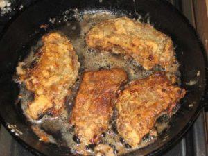 Рецепт: Печень жареная в кляре