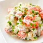Рецепт с фото: Летний салат с пекинской капустой
