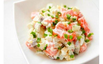 Быстрый, простой и вкусный салат рецепт с фото