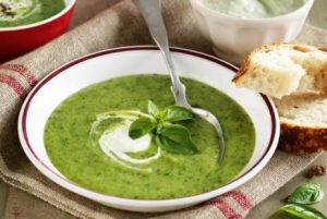 Рецепт с фото: Летний суп-пюре с соусом Pistou