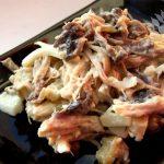 Рецепт с фото: Салат с крабовыми палочками