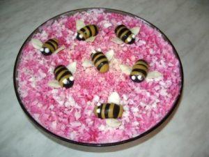 Рецепт с фото: Салат Генеральский. Пчёлки.