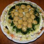 Рецепт с фото: Салат Шапка Мономаха