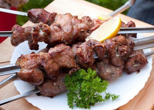 Шашлык из говядины рецепт маринада (классический шашлык)
