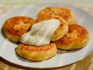 Рецепт вкусных сырников с творогом. Фото рецепт