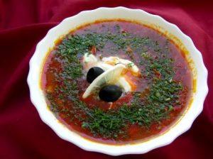 Рецепт с фото: Солянка сборная мясная. Солянка из мяса