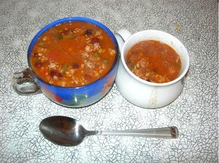 Рецепт с фото: Суп Чили. Знаменитый Чили суп