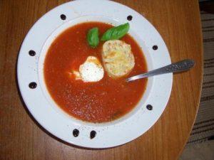 Рецепт с фото: Томатный суп. Суп из томатов.