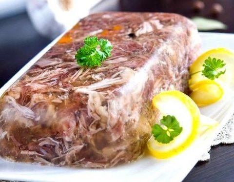 Рецепт с фото: Холодец из свинины. Новогодний холодец.